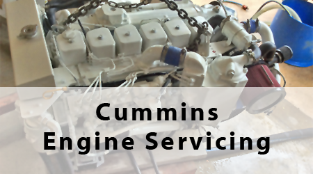 Cummins Engine Servicing